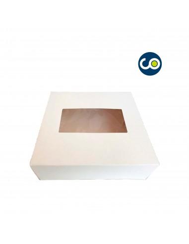 Caja blanca para roscón de reyes modelo anónimo