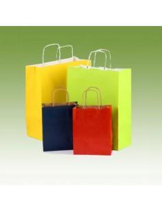 Bolsas con asa de colores