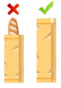 personalizar bolsas de papel normativa alimentaria