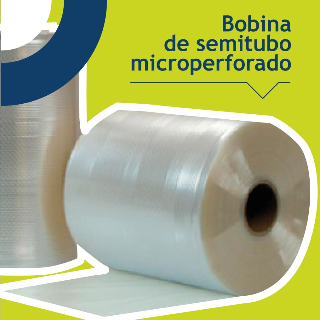 bobina de semitubo microperforado